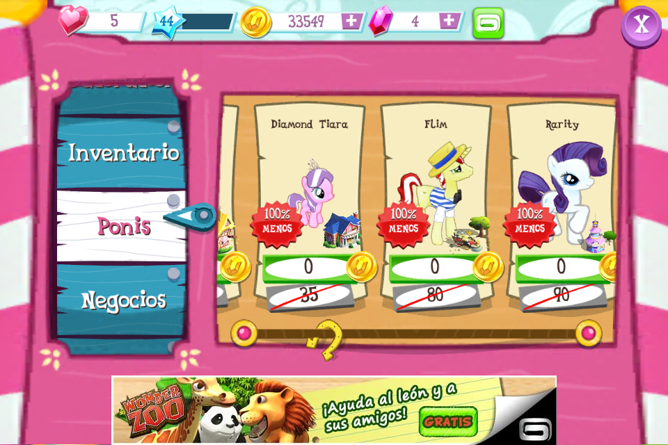Gameloft Little Pony Sin Pagar Android Ios Taringa
