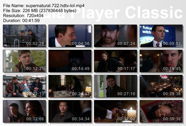 supernatural 7x22  720p hd