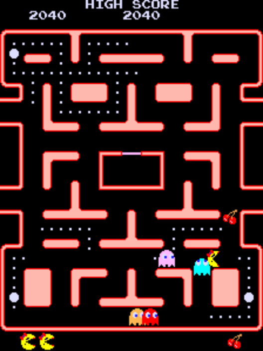 pacman game online free play full screen