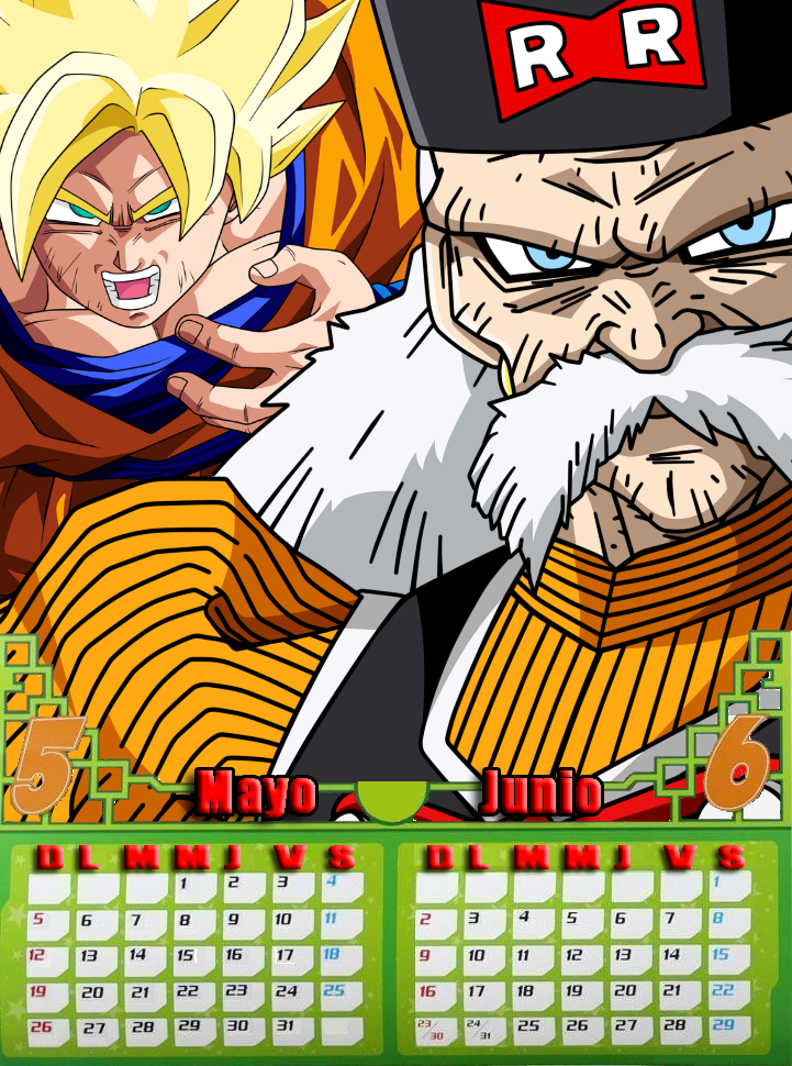 • Calendario Dragon Ball Z · Comunidad Oficial 2013