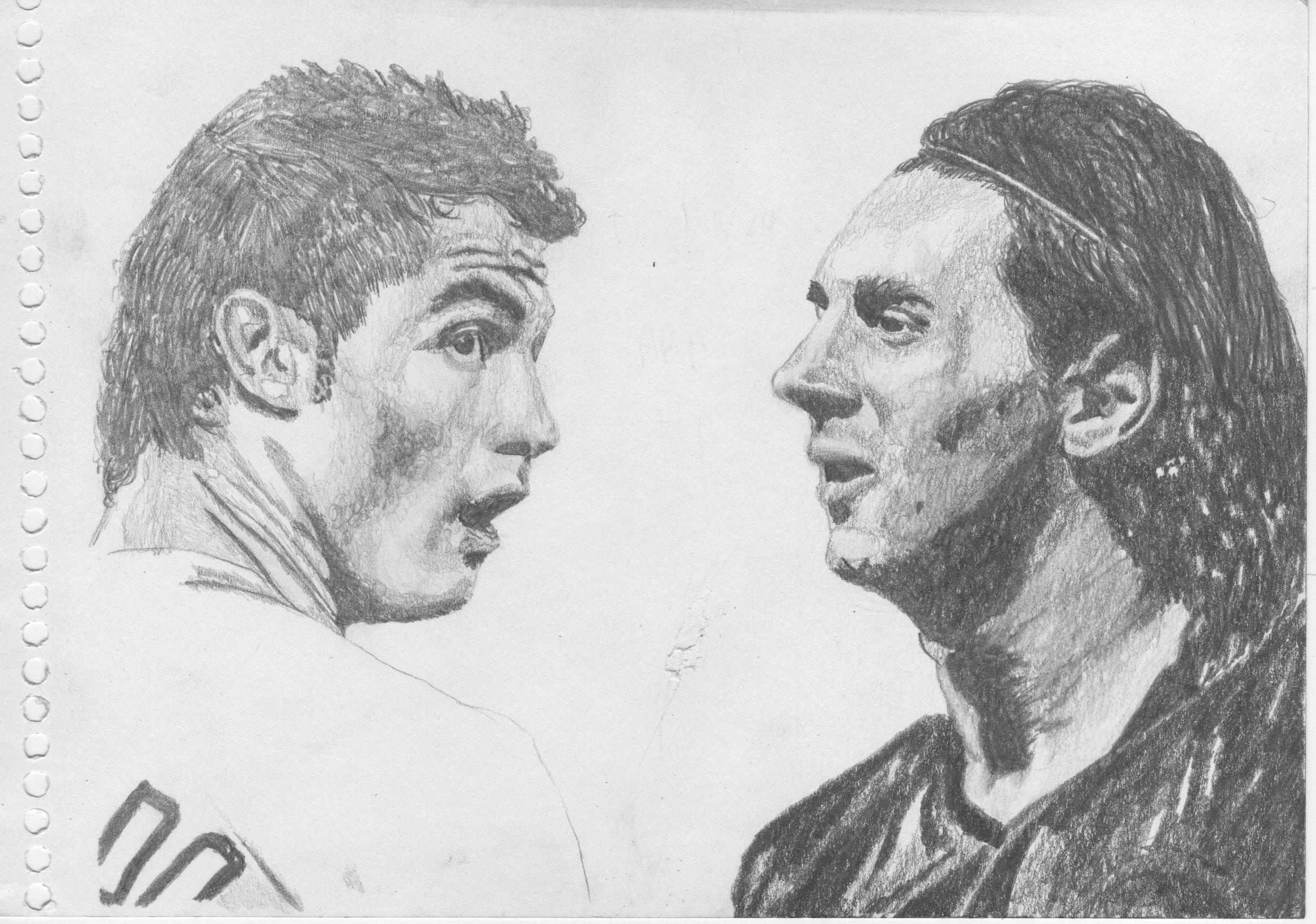 Messi vs Ronaldo, te dibujo a los 2 cracks