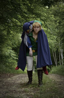 #LCosplay  :information_source: Link y Vaati de The legend of Zelda