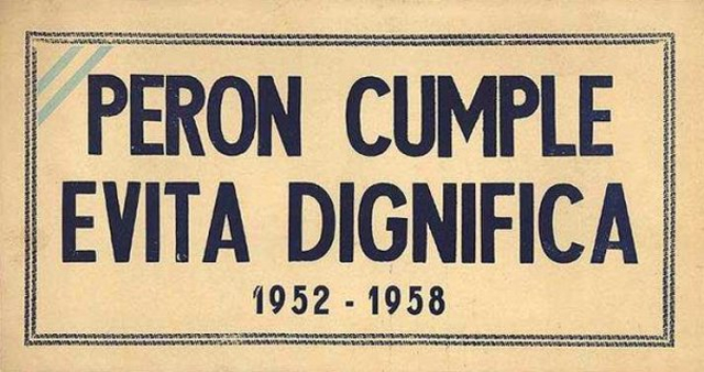 Afiches peronistas- 1946 -1954