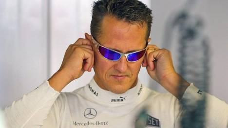 Michael Schumacher Accidentado