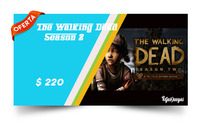 #RS  #4djesJuegos  #Ofertón  #The Walking Dead Season #RS    33 % Descuento :exclamation: :exclamation: