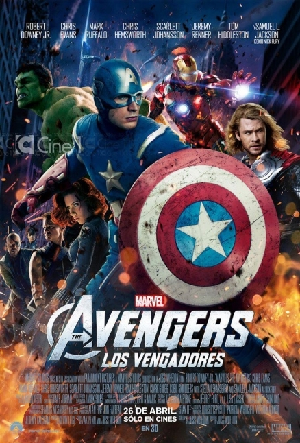 Los Vengadores 'The Avengers' 2012 (BrRip Latino & Espa�