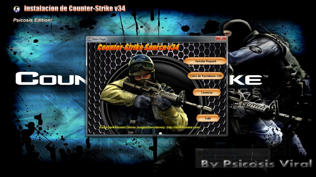 Repack Counter-Strike Source V34 [No-Steam]