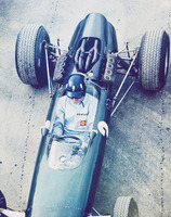 Graham Hill , Watkins Glen 1965