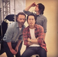 The walking dead Comic-con 2014