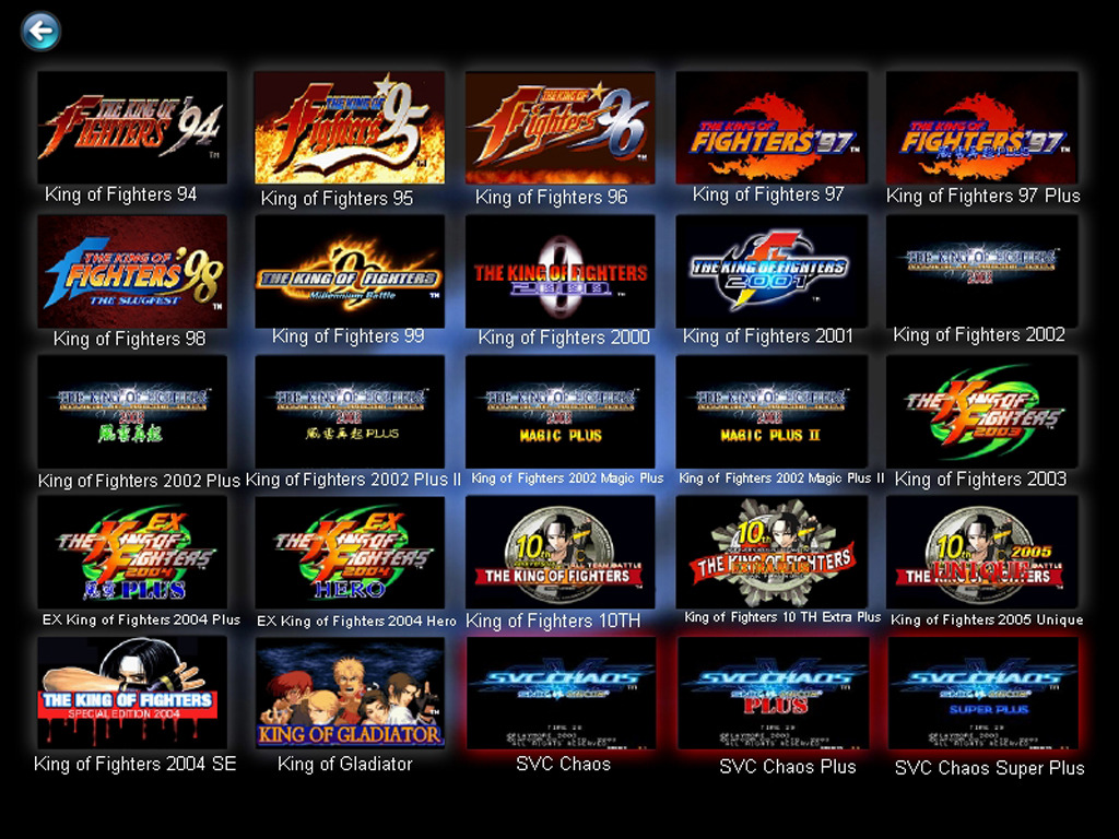 Descargar The King Of Fighters Collection 25 in 1 (Full)