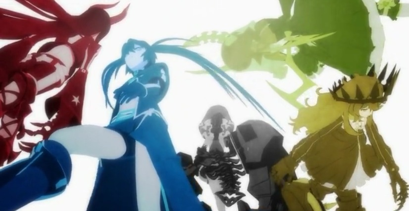 [Aporte] Black★Rock Shooter [8/8]+Ova