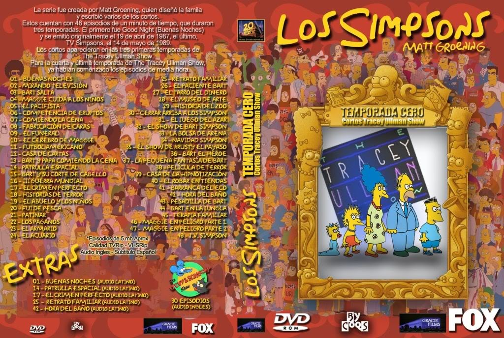 Los Simpsons  - Carátulas DVD temporada 0 - 24