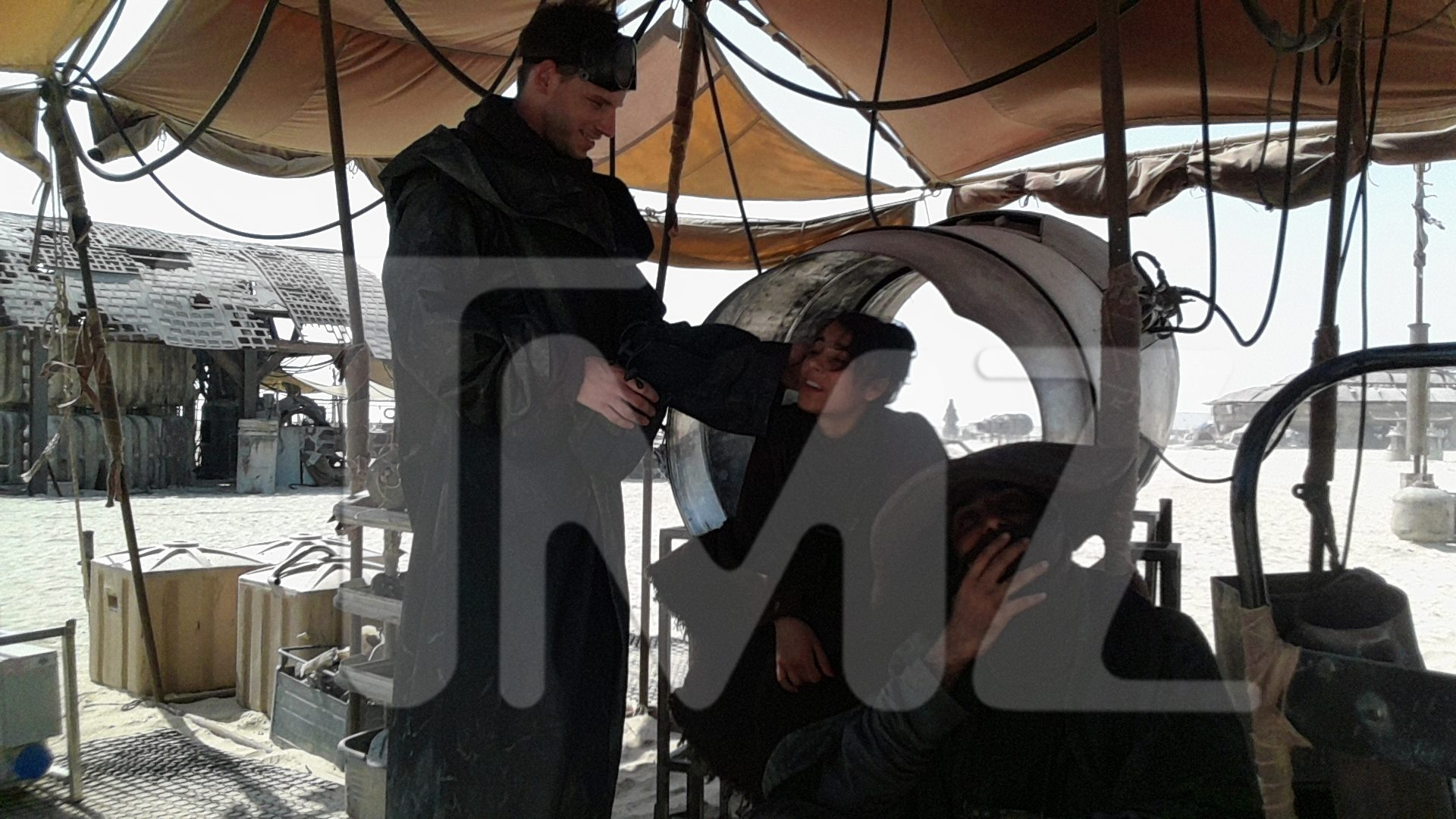 Imagenes del set de Star Wars: The Force Awakens, y demas.