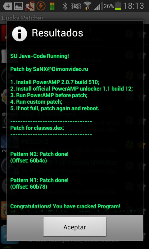 lucky patcher custom patch by sanx