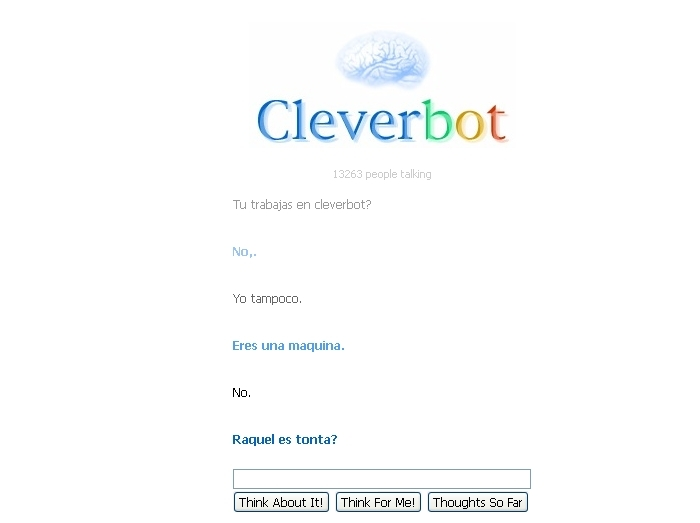 CleverBot verdad o mentira